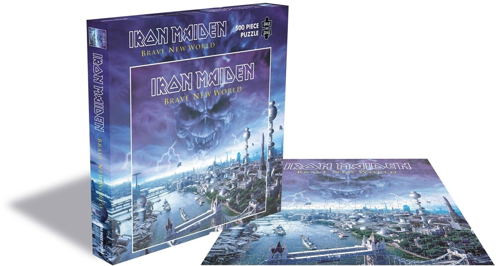 - Iron Maiden Brave New World (500 Pc Jigsaw Puzzle)