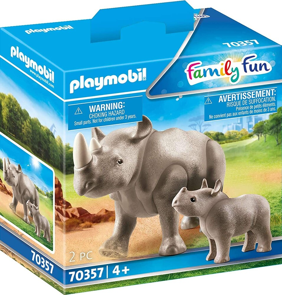 - Family Fun Rhino With Calf (Fig)