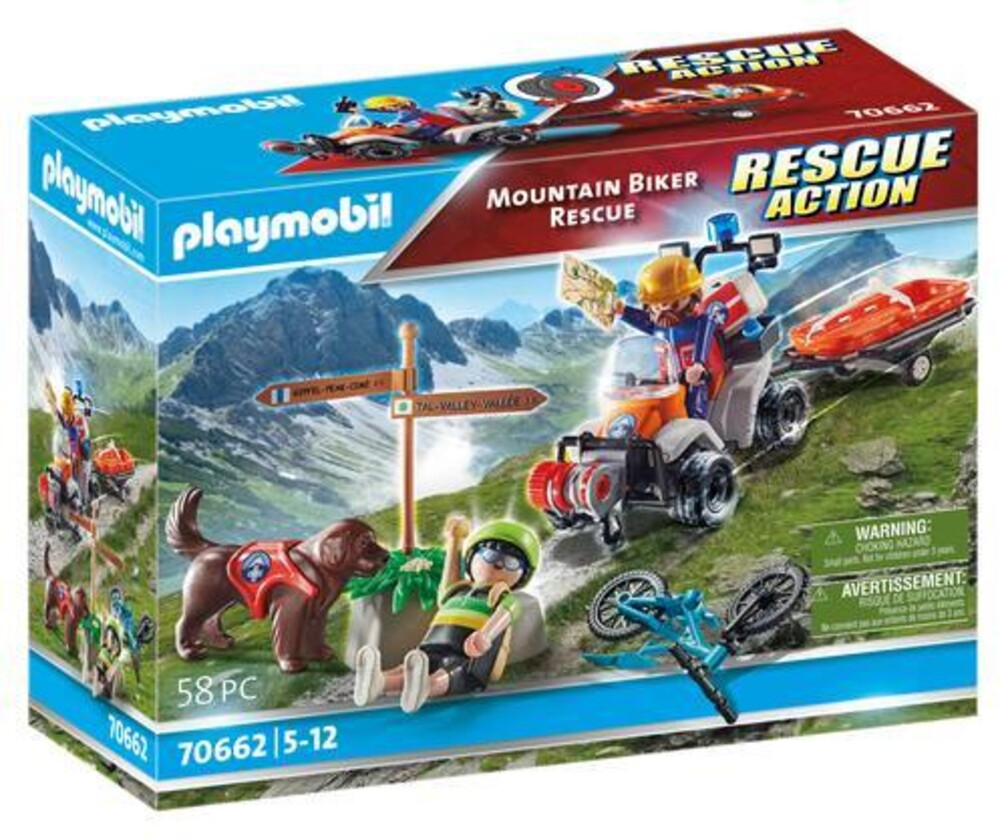 - Rescue Action Mountain Biker Rescue (Fig)