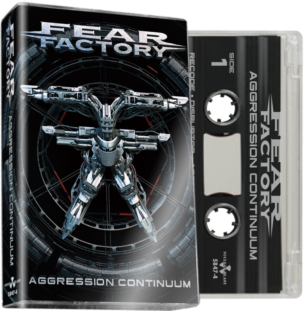Fear Factory - Aggression Continuum (Clear Cass.) [Limited Edition]