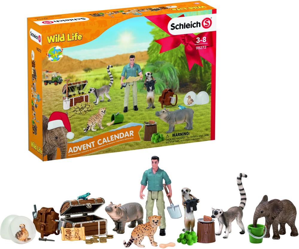 Schleich - Schleich Advent Calendar Wild Life 2021 (Cal)