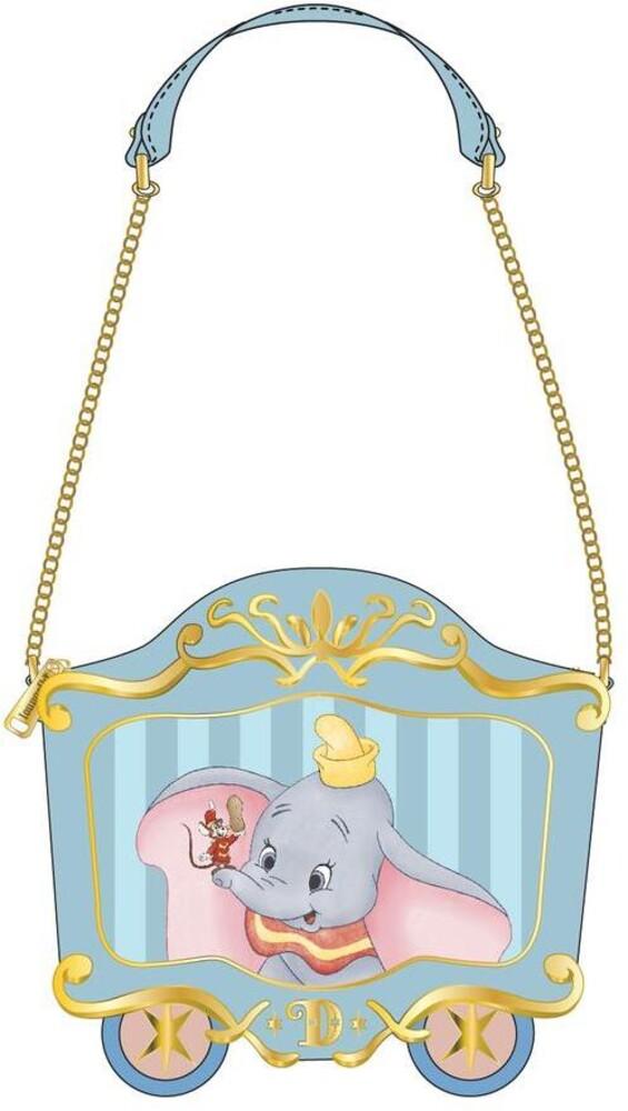 Loungefly Disney: - Dumbo 80th Anniversary Train Car Crossbody Bag