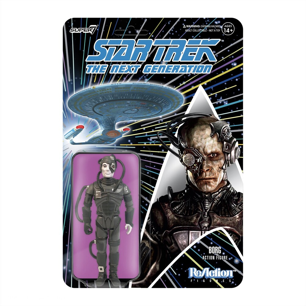 - Star Trek: The Next Generation Wave 1 - Borg (Fig)