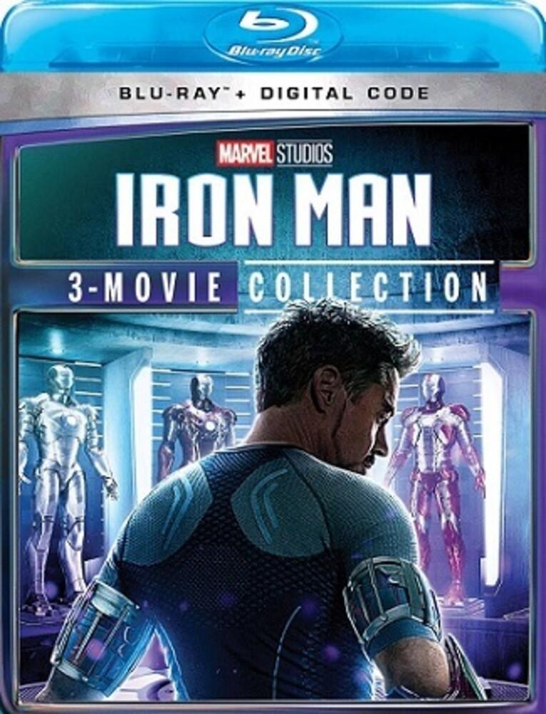 - Iron Man 3-Movie Collection (3pc) / (3pk Digc Dts)