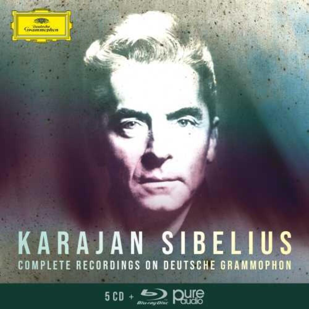 Herbert Karajan  Von - Complete Sibelius Recordings On Dg (Box) (Wbra)