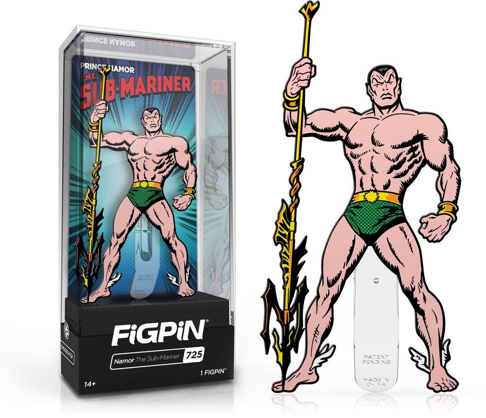 - FiGPiN Marvel Classic Comics Prince Namor The Sub-Mariner #725