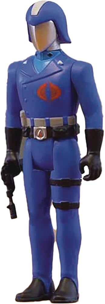 G.I. Joe Reaction Figures W1a - Cobra Commander - G.I. Joe Reaction Figures W1a - Cobra Commander