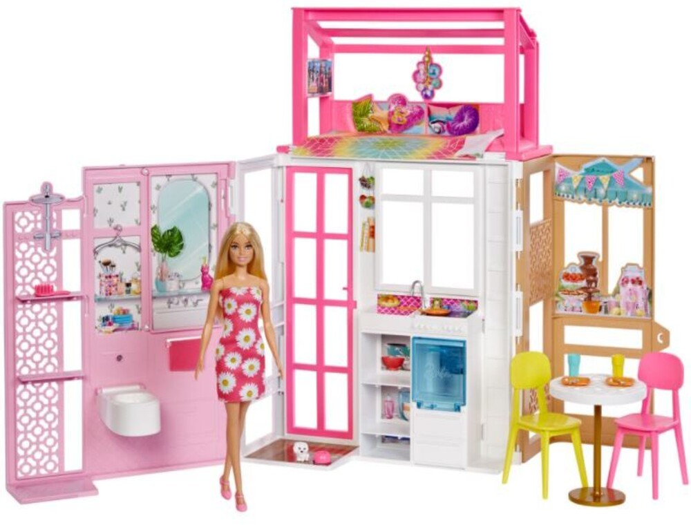 Barbie - Barbie House With Doll (Papd)