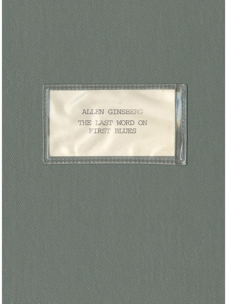 Allen Ginsberg - Last Word On First Blues