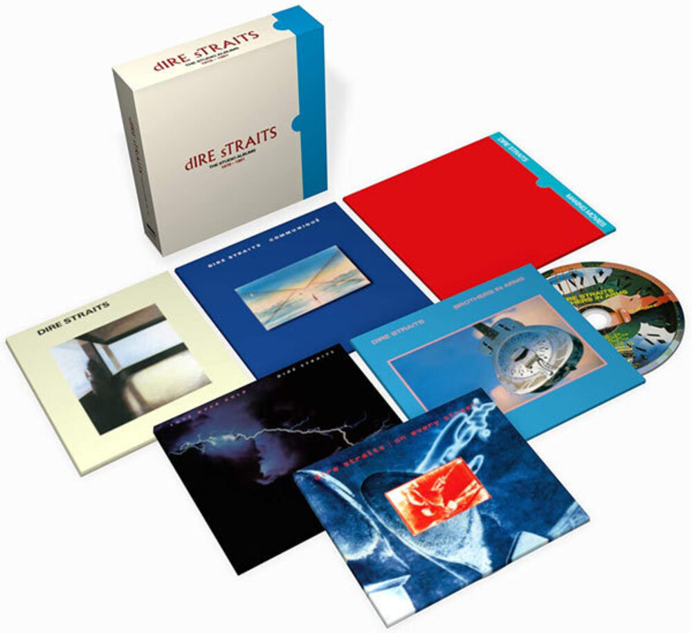 Dire Straits - Studio Albums 1978-1991 [6CD Box Set]