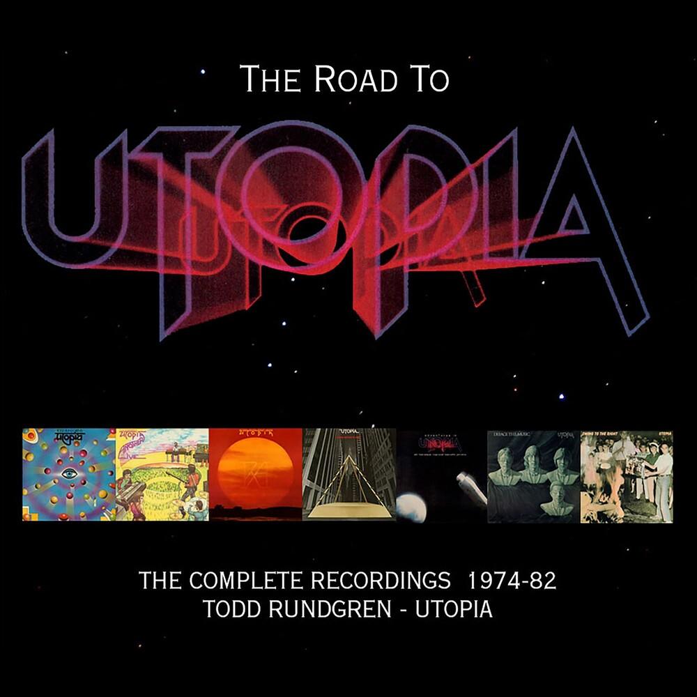 Todd Rundgren - The Road To Utopia – The Complete Recordings 1974-82 (Original Recording Masters/Limited Edition)