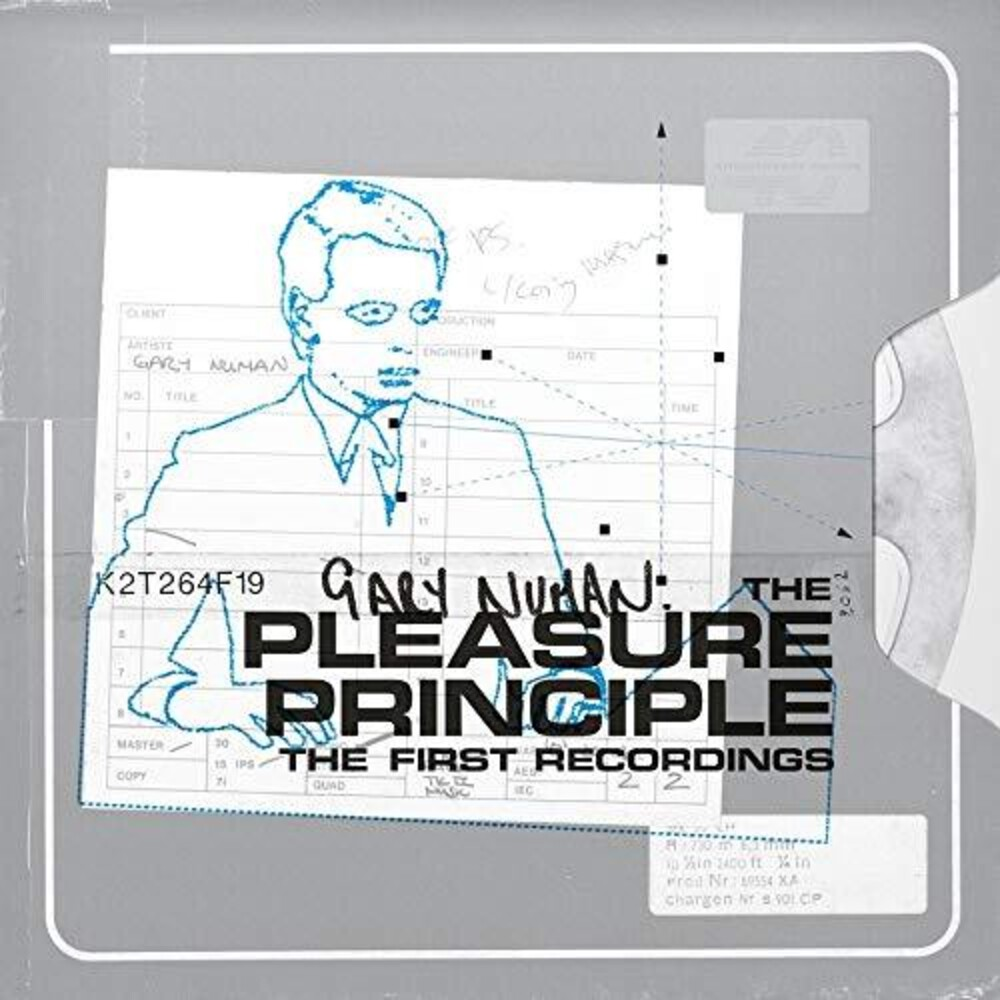 Gary Numan - Pleasure Principle - The First Recordings [Colored Vinyl]