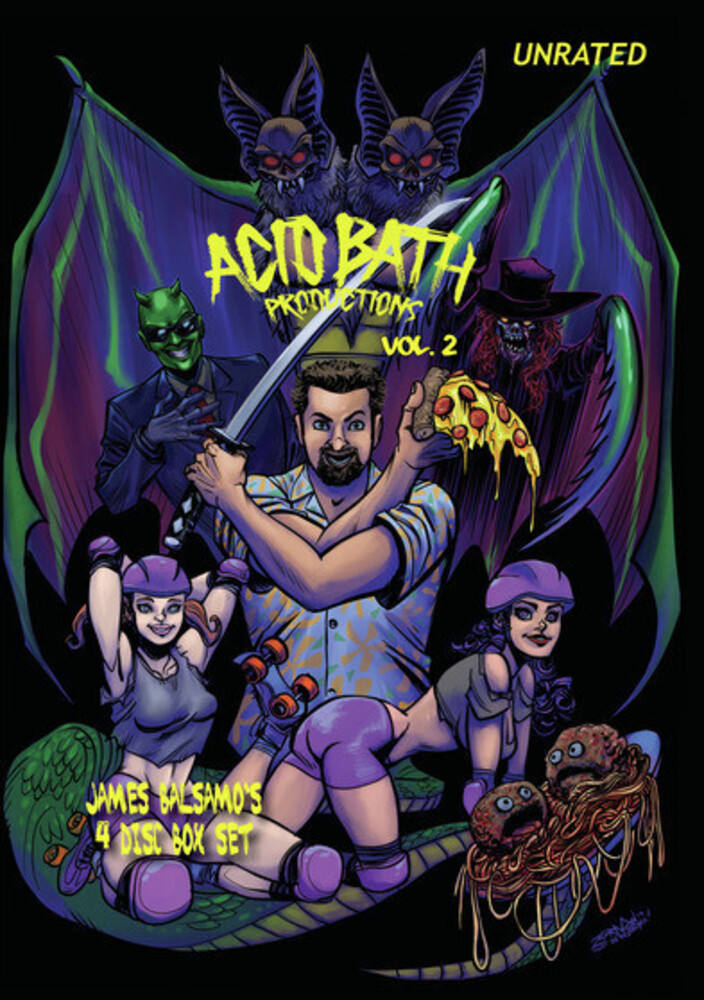 - Acid Bath Productions 2 (4pc) / (Box Mod Dol)