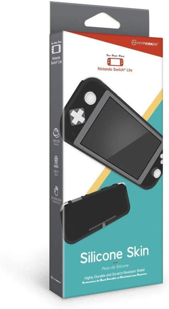 - Hyperkin Silicone Skin for Nintendo Switch Lite (Black)