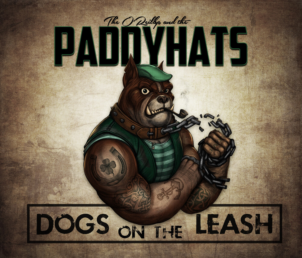 The O'Reillys And The Paddyhats - Dogs On The Leash [Mint Green & Orange Splatter 2LP]