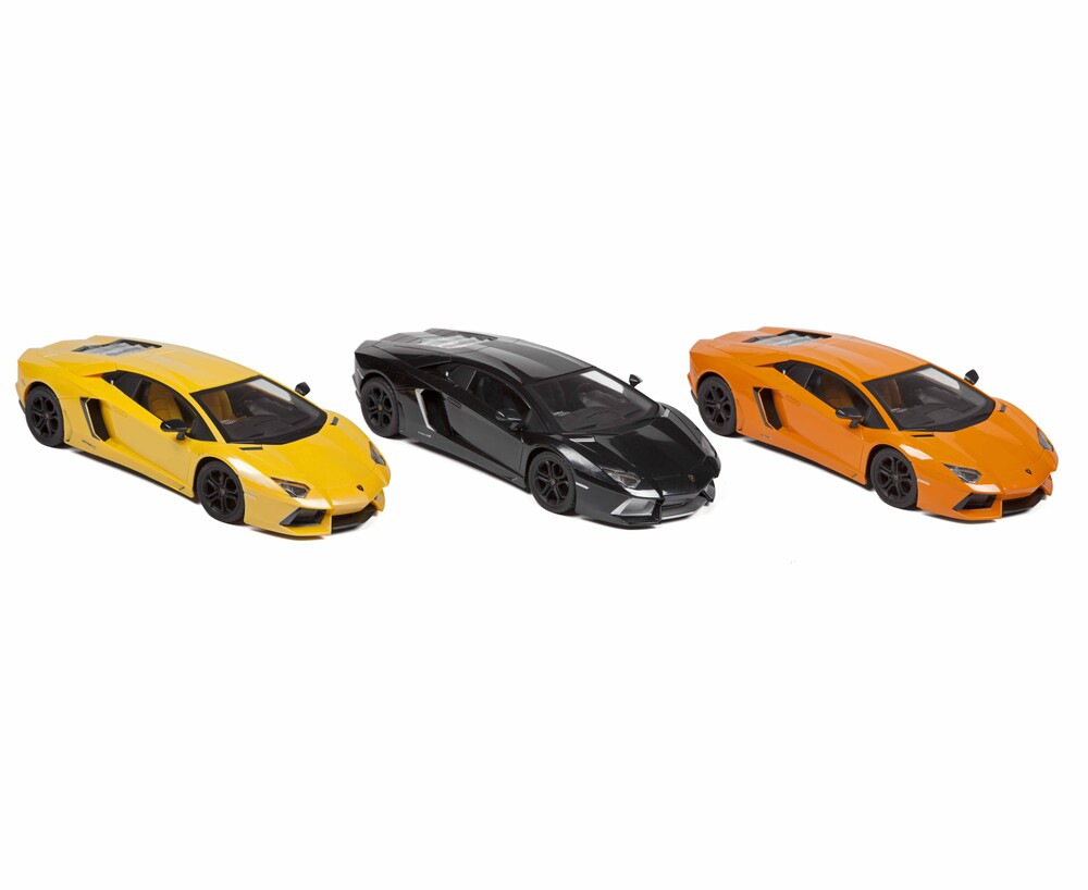 Rc Vehicles - Lamborghini Aventador LP 700-4 1:14 RTR Electric RC Car (One random color per transaction. Colors orange, yellow or black.)
