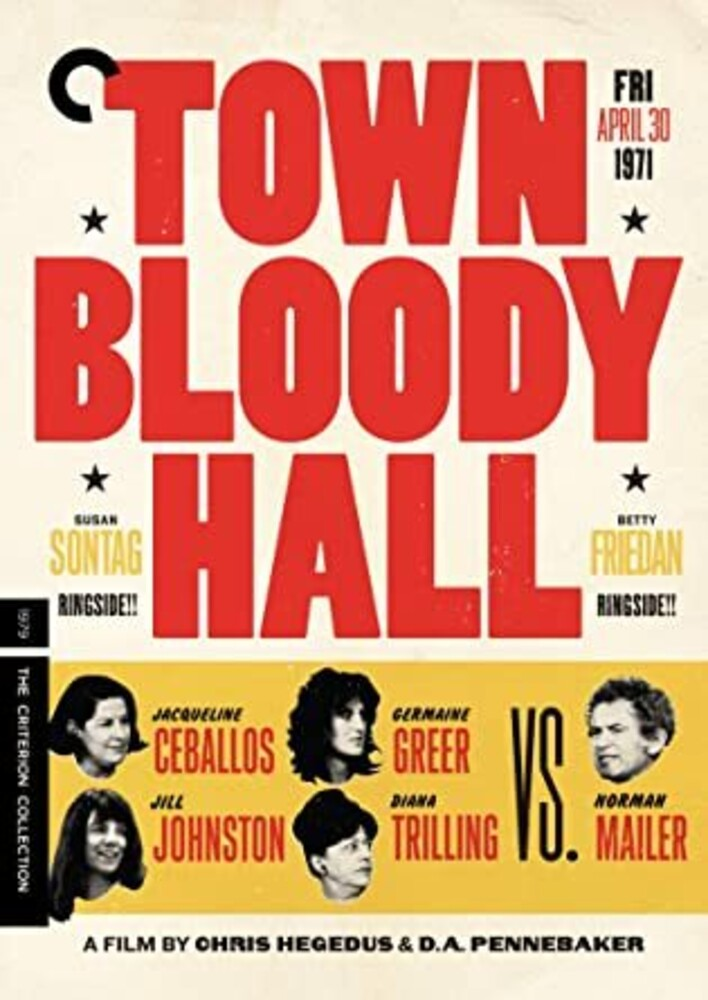 - Criterion Collection: Town Bloody Hall / (Full)