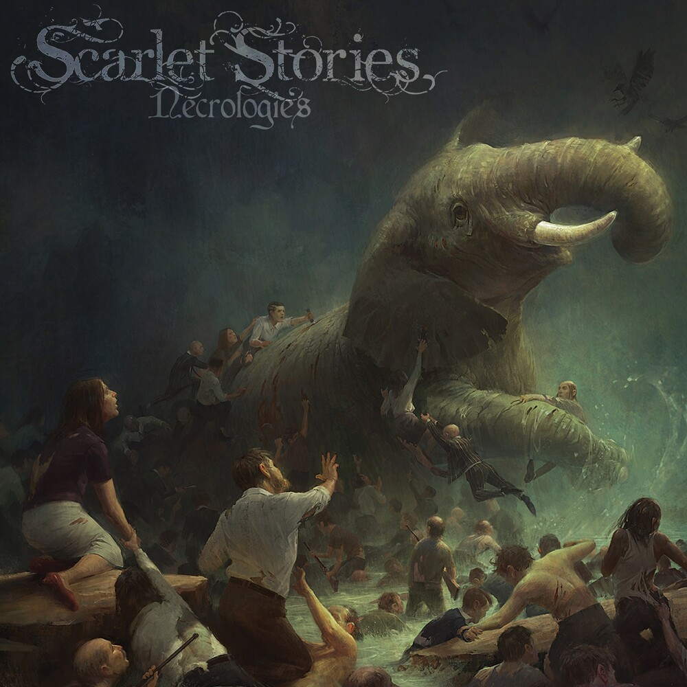 Scarlet Stories - Necrologies (Blk) (Colv) (Gate) (Ogv) (Red)