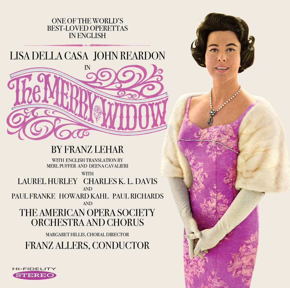 Della Casa Lisa / Reardon,John - Merry Widow [Remastered]