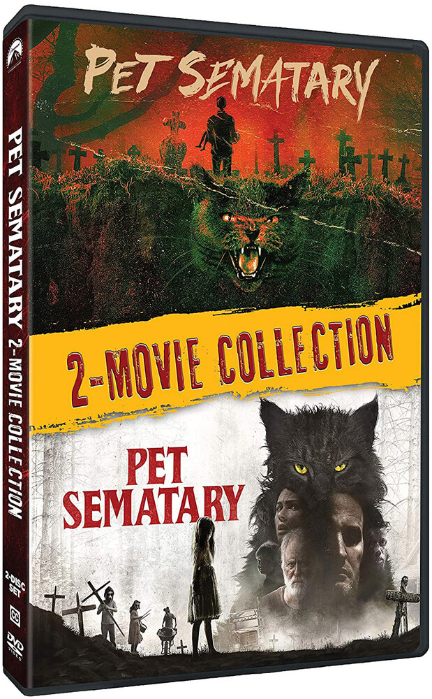 Fred Gwynne - Pet Sematary 2019 / 1989 (2 Movie Collection)
