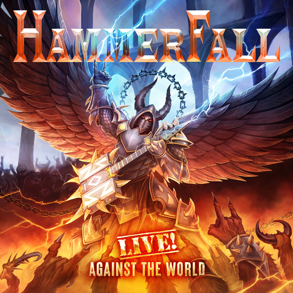 Hammerfall - Live Against The World (Wbr) [Digipak]