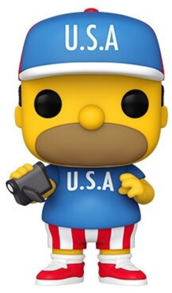 - FUNKO POP! ANIMATION: Simpsons- USA Homer