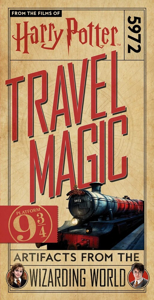 - Harry Potter: Travel Magic: Platform 9 3/4: Artifacts from the Wizarding World