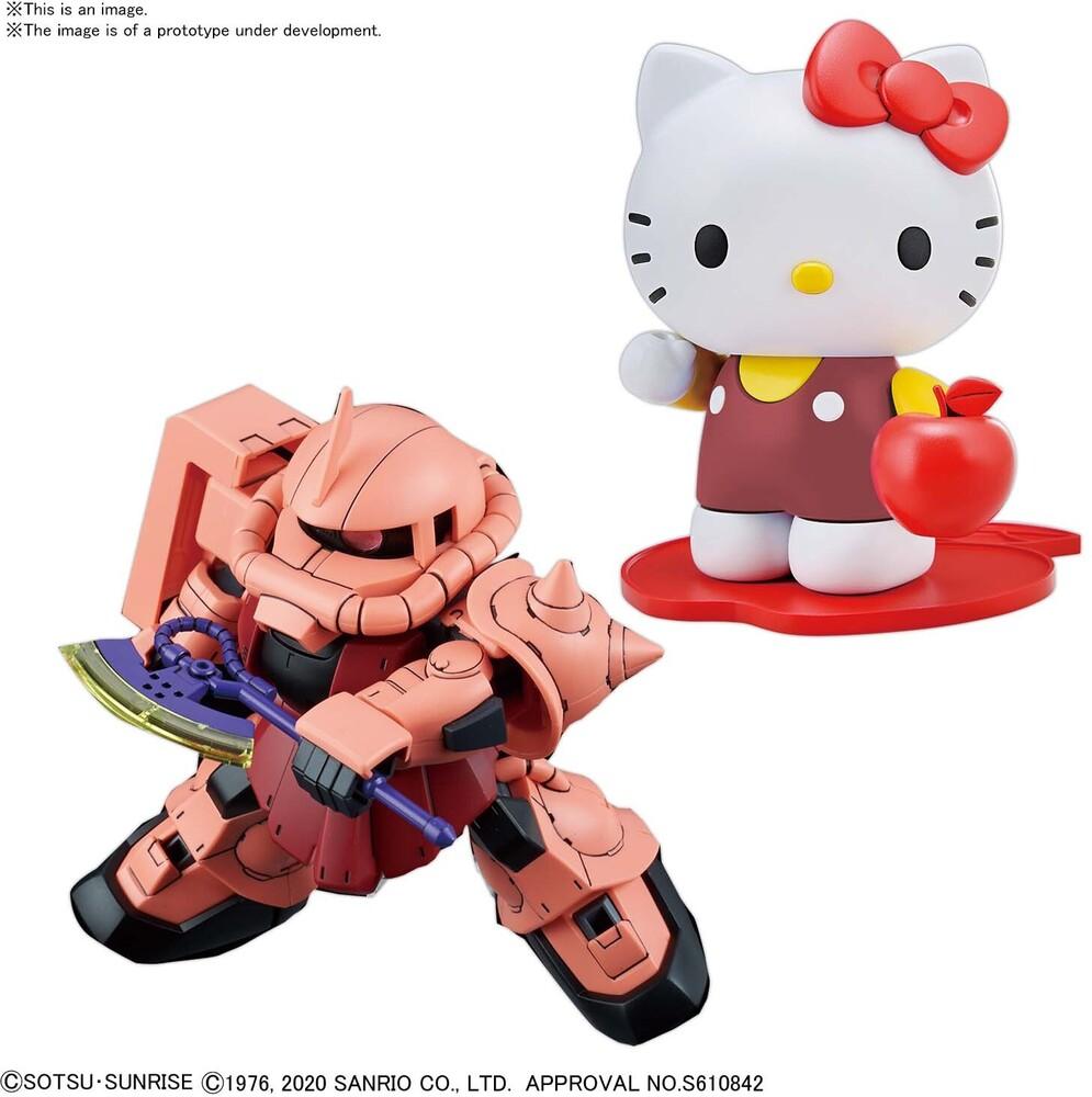 Bandai Hobby - Bandai Hobby - Hello Kitty / MS-06S Char's Zaku II [SD Gundam CrossSilhouette]