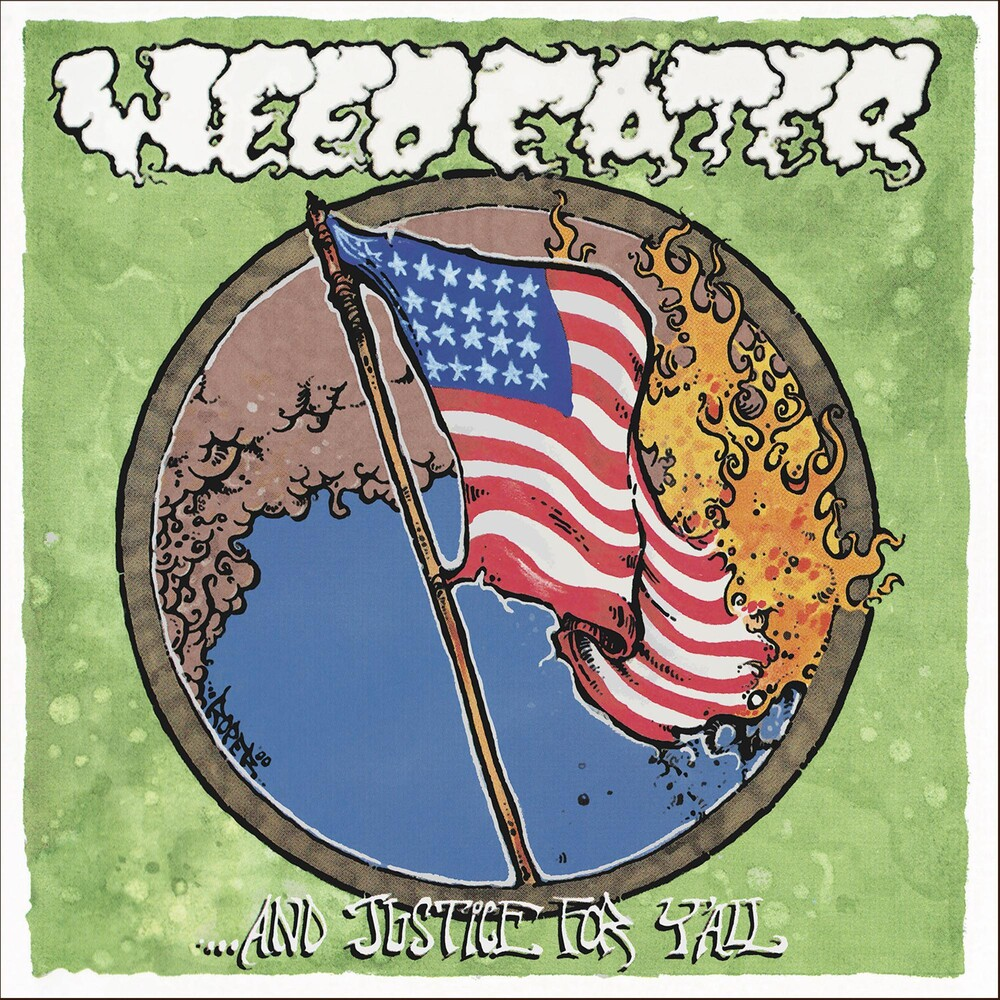 Weedeater - Justice For Y'all [Colored Vinyl] [Clear Vinyl] (Gate) [Limited Edition] (Ylw)