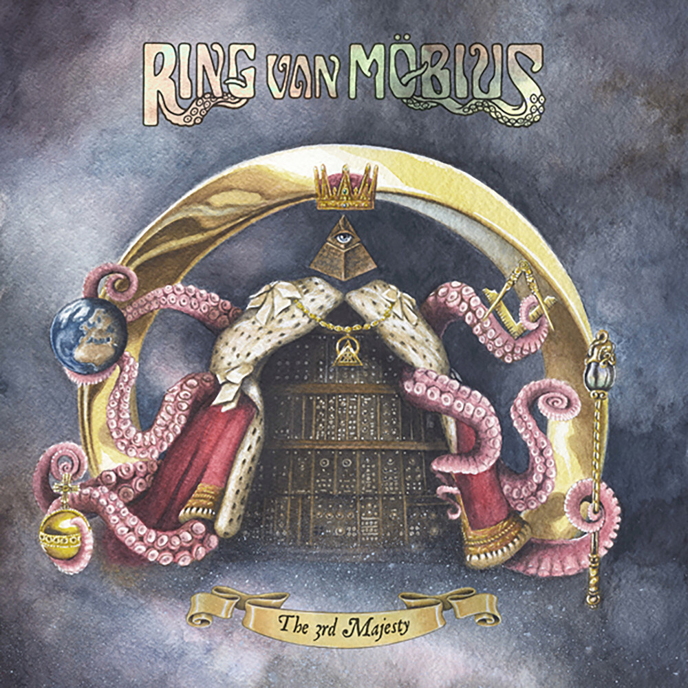 Ring Van Mobius - 3rd Majesty [Clear Vinyl] (Uk)