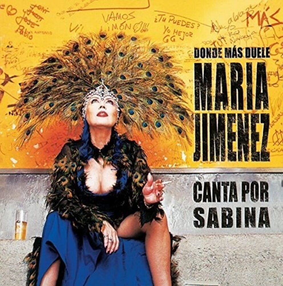 Maria Jimenez - Donde Mas Duele (Canta Por Sabina)