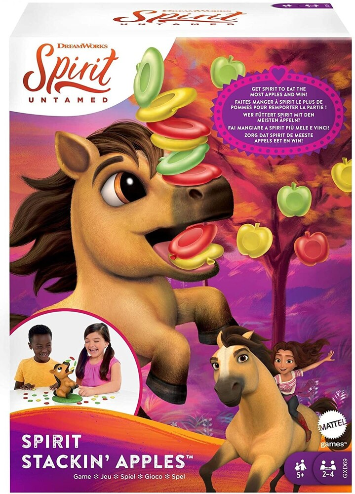 Games - Mattel Games - Spirit Apple Catching Game