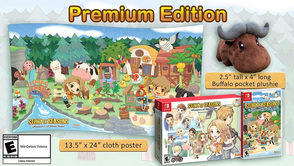Swi Story of Seasons: Pioneers of Olive Town Prem - STORY OF SEASONS: Pioneers of Olive Town - Premium Edition for Nintendo Switch