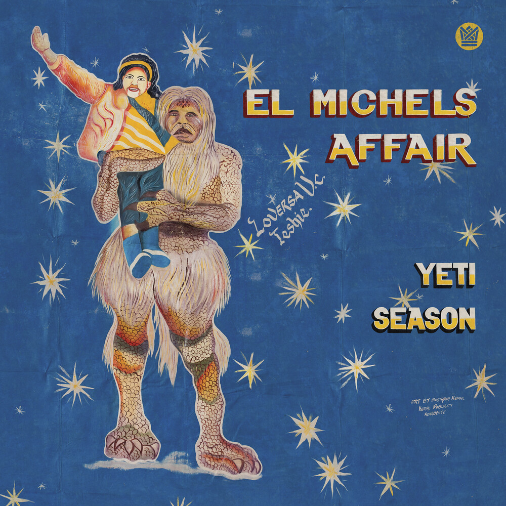 El Michaels Affair - Yeti Season [Indie Exclusive] (Clear Blue Vinyl) (Blue) [Clear Vinyl]
