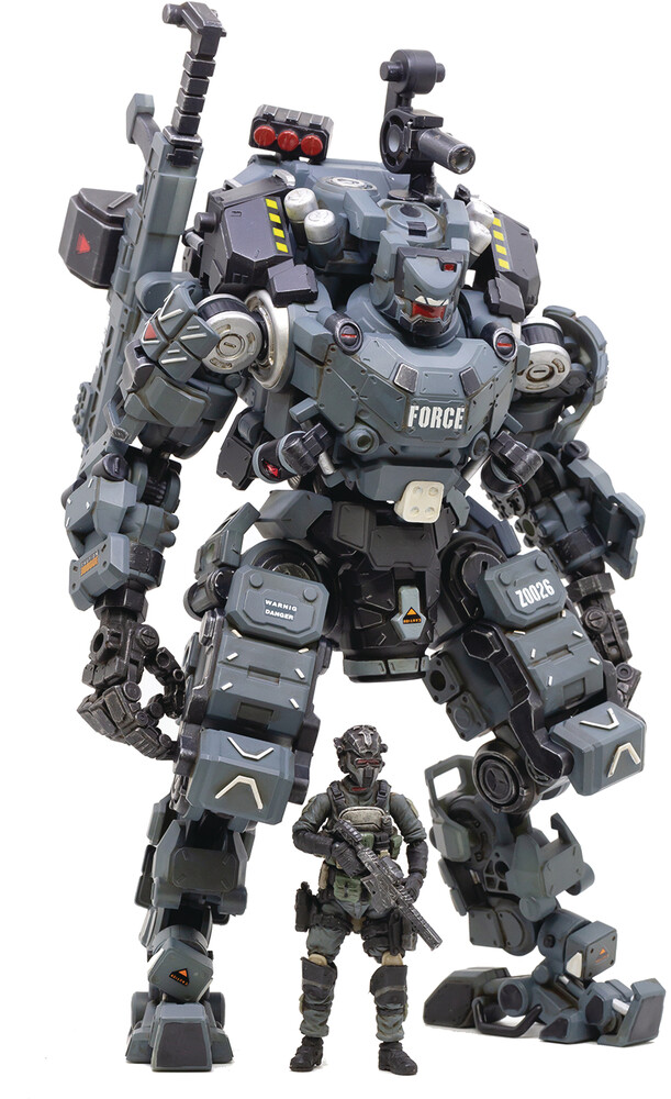 Dark Source Trading - Dark Source Trading - Joy Toy Steel Bone Classic Armor Mecha Gray 1/25Figure (Net)