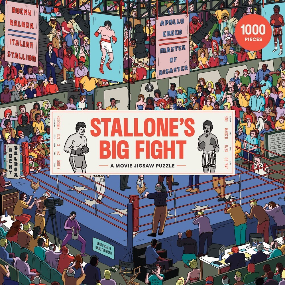 - Stallone's Big Fight: A Fantastical 1000-Pieces Jigsaw Puzzle