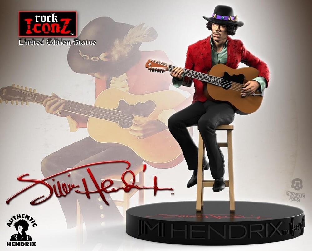- Knucklebonz - Jimi Hendrix II Rock Iconz Statue