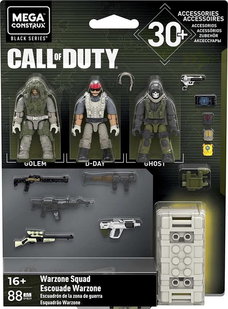Mega Brands Call of Duty - MEGA Brands - Call of Duty Warzone Squad
