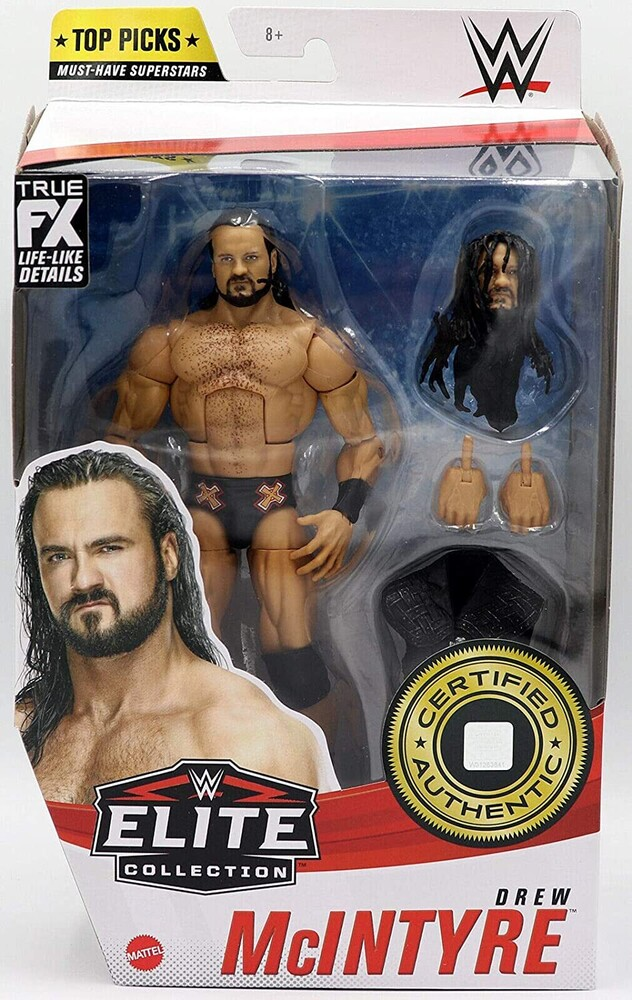 - Mattel Collectible - WWE Elite Figure Drew Mcintyre
