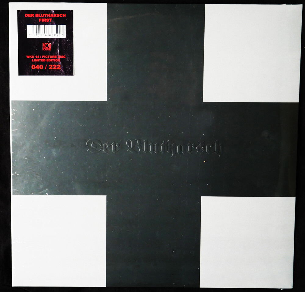 Der Blutharsch - First [Deluxe] [Limited Edition] (Pict) [Reissue]