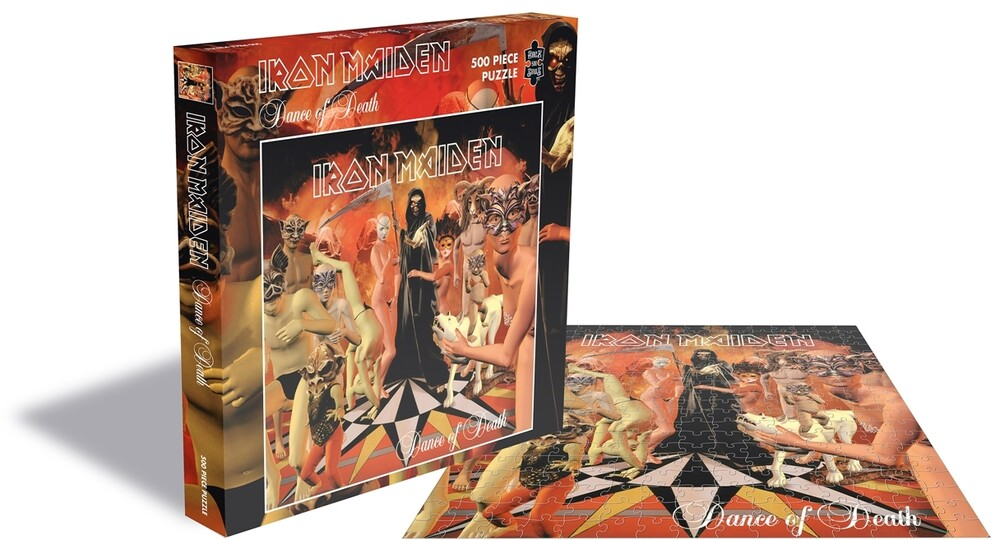 - Iron Maiden Dance Of Death (500 Pc Jigsaw Puzzle)
