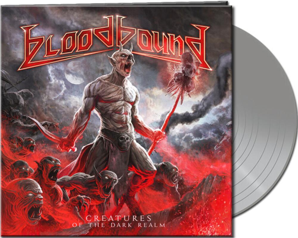 Bloodbound - Creatures Of The Dark Realm (Silver Vinyl) [Colored Vinyl]