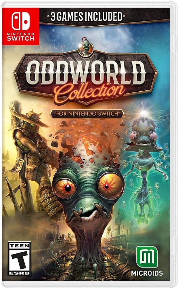 - Swi Oddworld: Collection