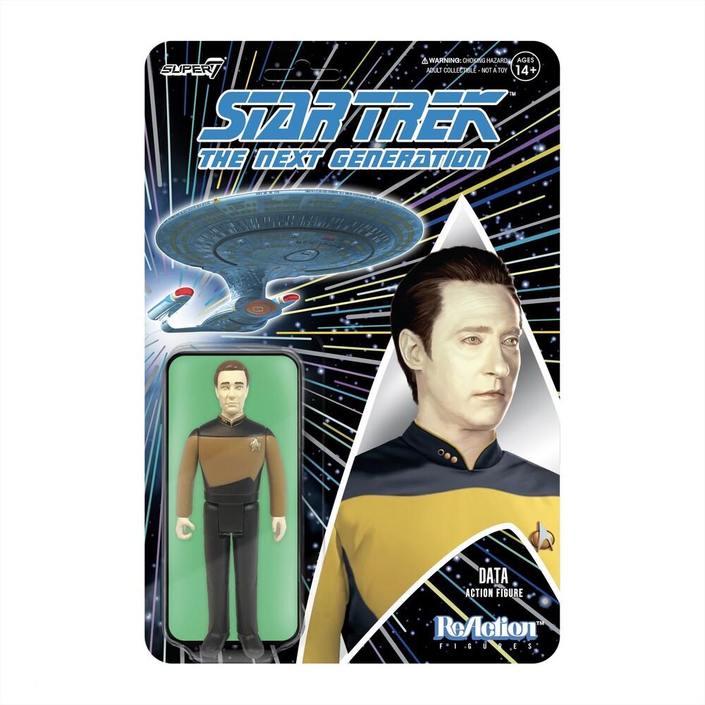 - Star Trek: Tng Reaction Figure Wave 1 - Data (Fig)