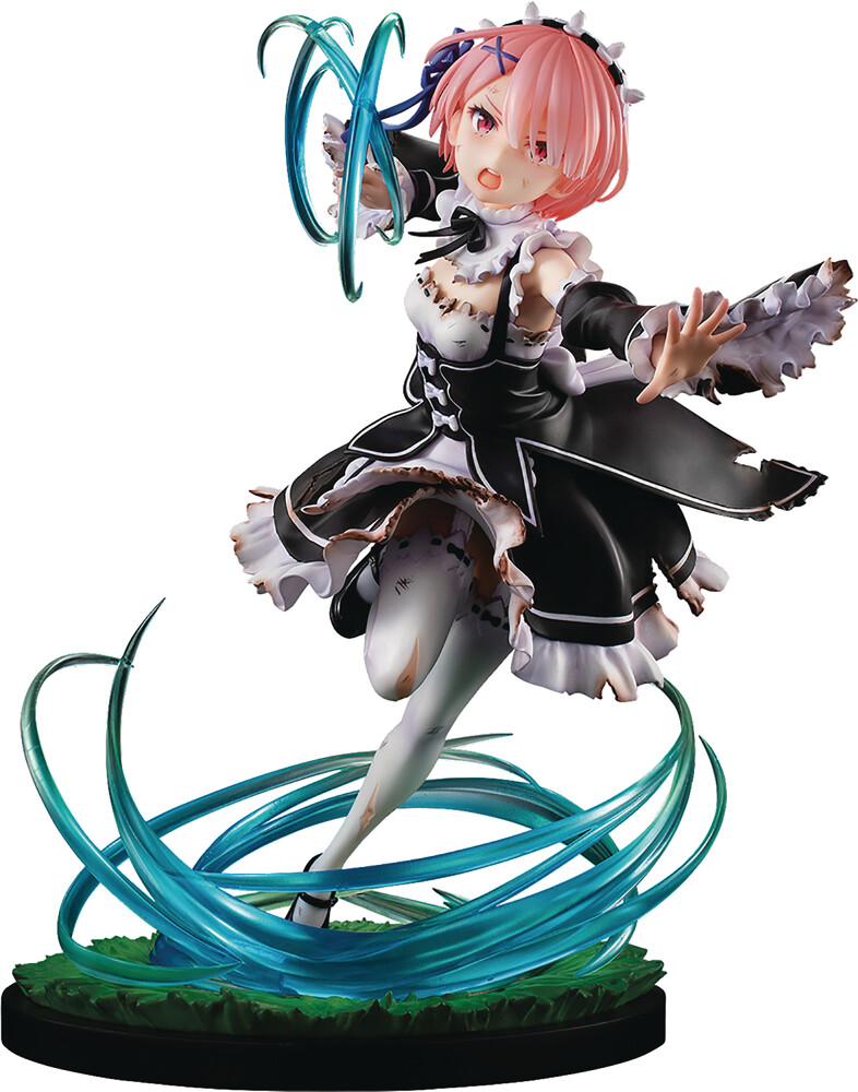 - Re Zero Startiong Life Battle With Roswaal Ram 1/7
