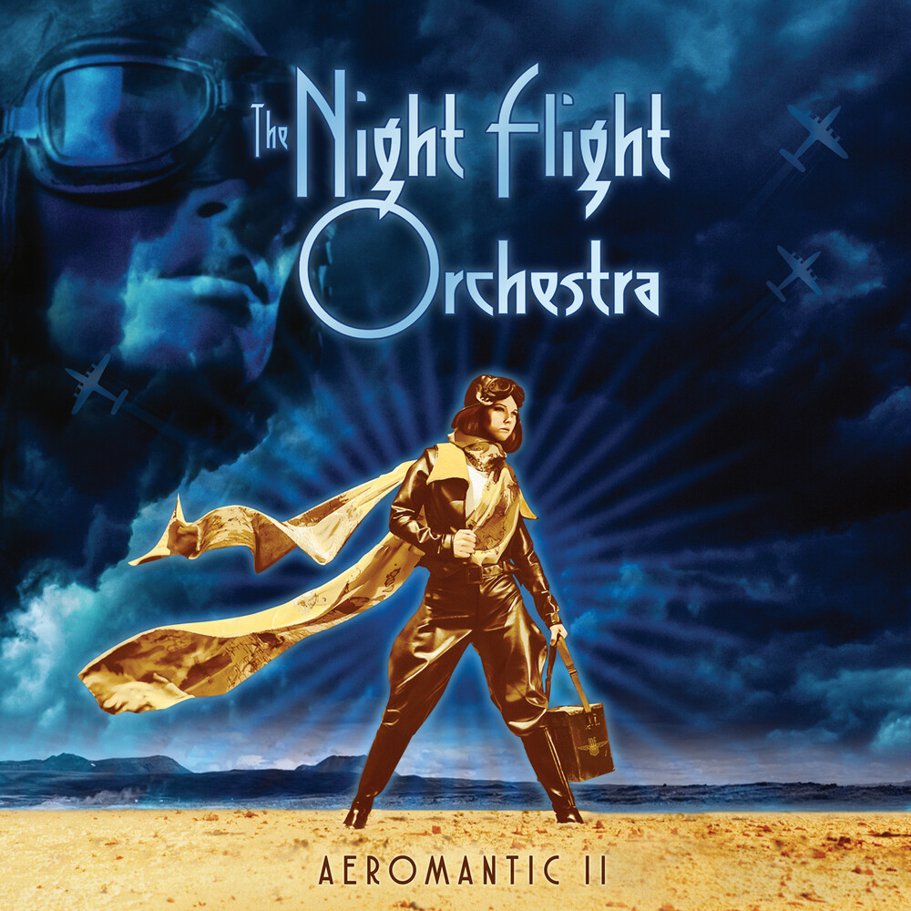 Night Flight Orchestra - Aeromantic Ii [Indie Exclusive] (Clear) [Colored Vinyl] [Clear Vinyl] [Indie Exclusive]