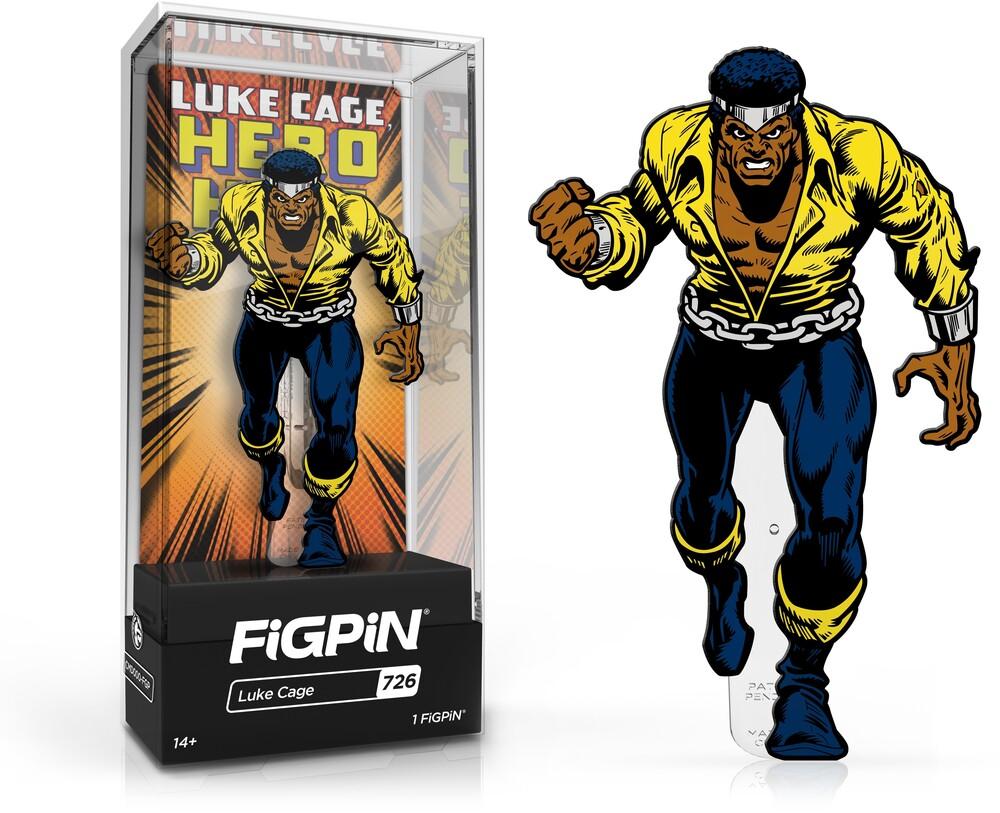 - FiGPiN Marvel Classic Comics Luke Cage Hero For Hire #726