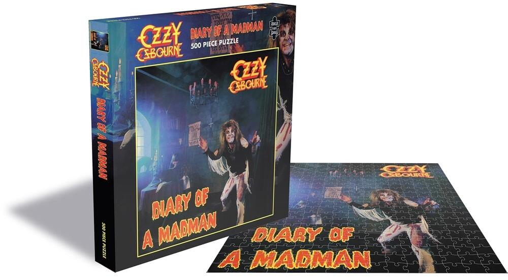 Osbourne, Ozzy Diary of a Madman (500 Piece Puzzle) - Ozzy Osbourne  Diary Of A Madman (500 Piece Puzzle)