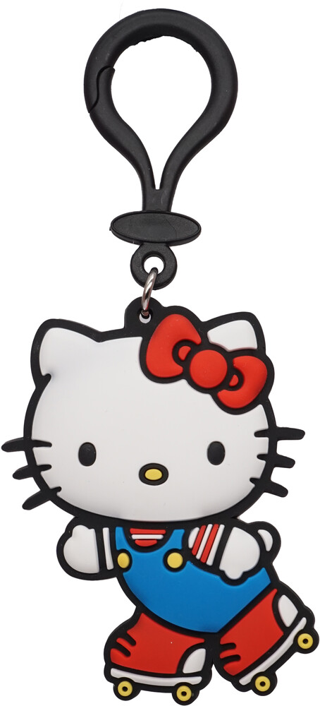 Hello Kitty on Roller Skates Soft Touch Bag Clip - Hello Kitty On Roller Skates Soft Touch Bag Clip