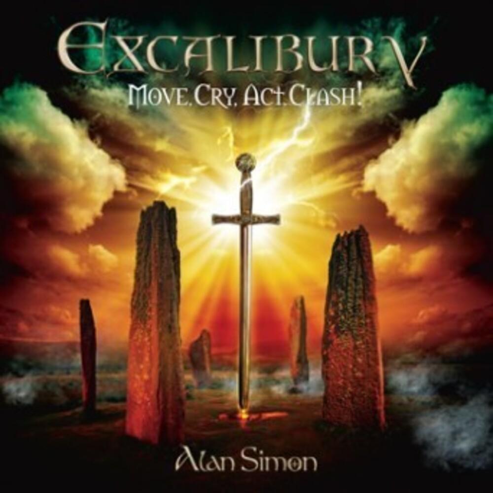 Alan Simon - Exaclibur V: Move Cry Act Clash (Uk)